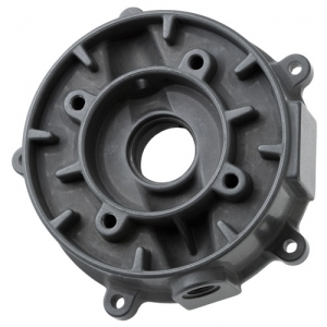 Die casting part anodized